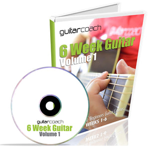 Beginners Guitar Course: 6-Week Guitar Vol.1