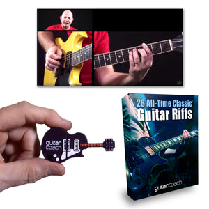 28 Classic Riffs: Pre-Loaded Guitar USB Drive
