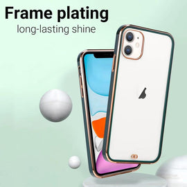 LiKGUS for iPhone 12 Pro Max (6.7 inch), Crystal Clear Tough and Flexible TPU Back Case Cover (WHITE)