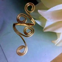 Gypsy Gold Filled Swirl Ring