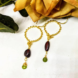 Ukanite Earrings