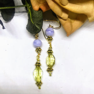 Lemon Blue Earrings