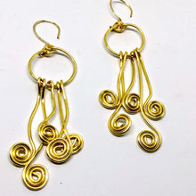 Artisan Klimt Earrings