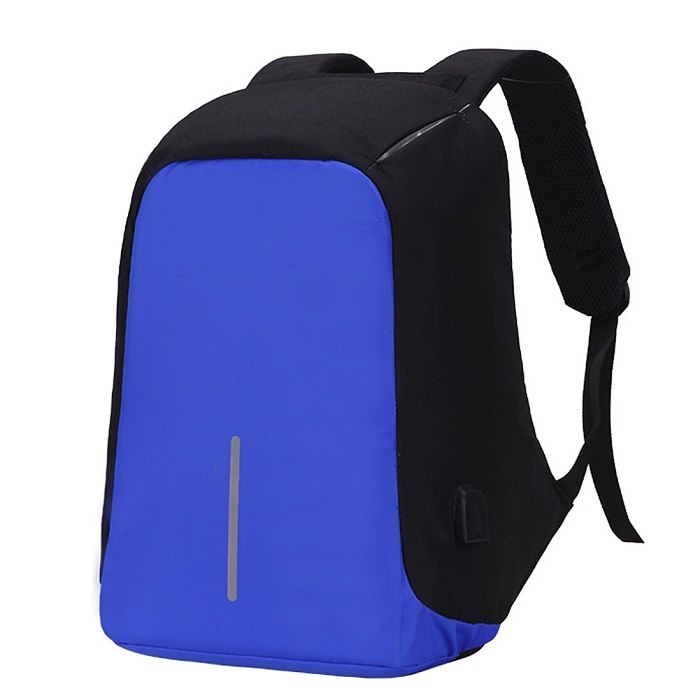 Original Anti-Theft Backpack With USB Charging-Laser Blue-ERucks