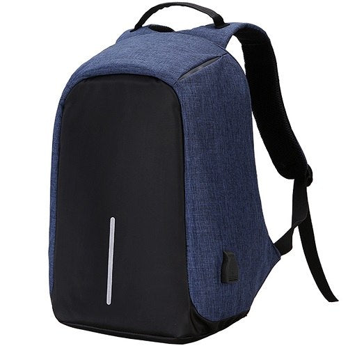 Original Anti-Theft Backpack With USB Charging-Dark Blue-ERucks