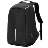 Original Anti-Theft Backpack With USB Charging-Black-ERucks
