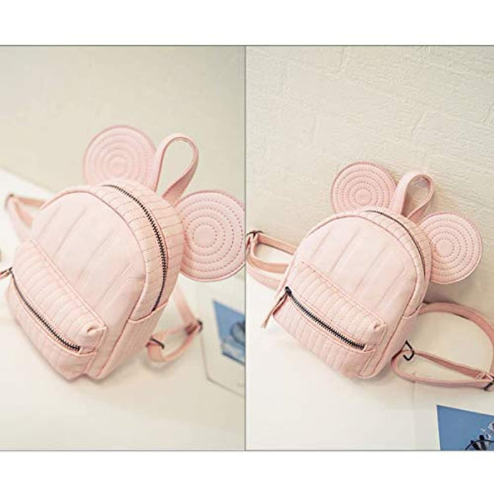 Cute Lightweight Mouse Ear Mini Backpack