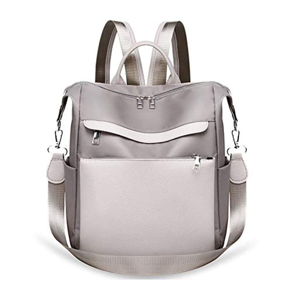 Women Backpack Purse Waterproof Anti-theft Rucksack Lightweight Travel Shoulder Bag with Shoulder Strap