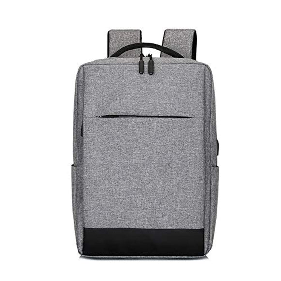 Unisex Business Travel Computer Backpack with USB charging port and Headphone Interface