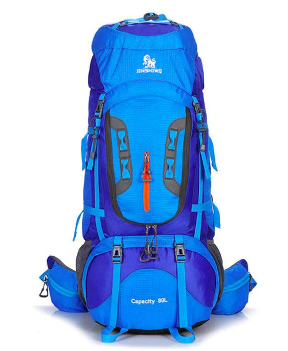 Blue Large Capacity Camping Rucksack 80L--ERucks