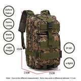 Tactical 30L 600D Military Molle Backpack