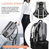 Large Capacity Laptop Backpack with USB Charging Port