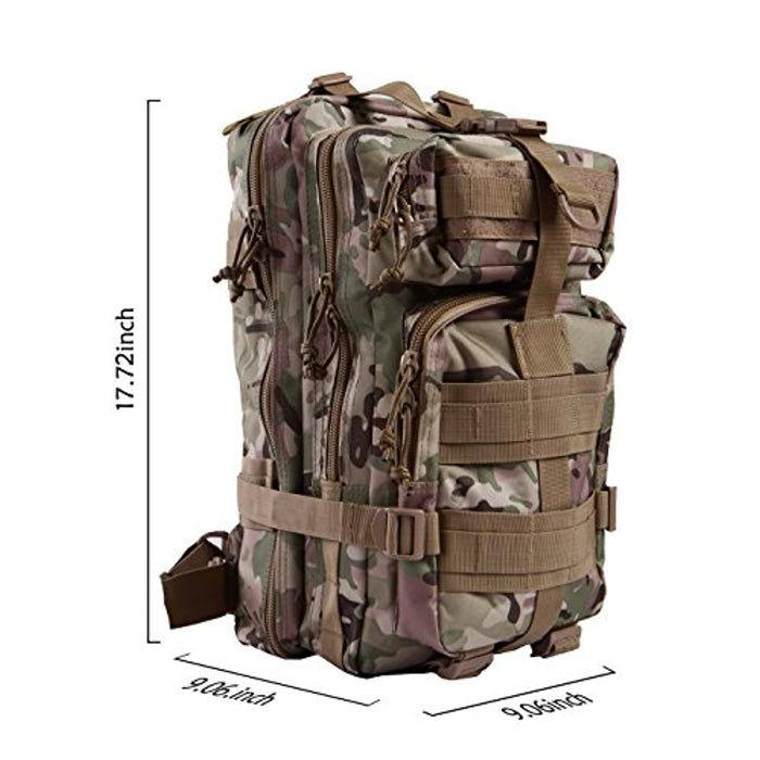 Tactical Military Backpacks 20L MOLLE Bug Out Bag Survival Backpack