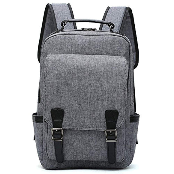 Versatile Designed Canvas Laptop Backpack 15.6