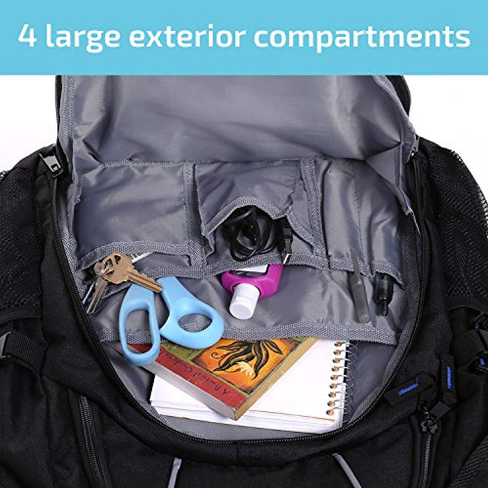Protective Water Resistant Backpack for Laptops Up to 15.6 Inch