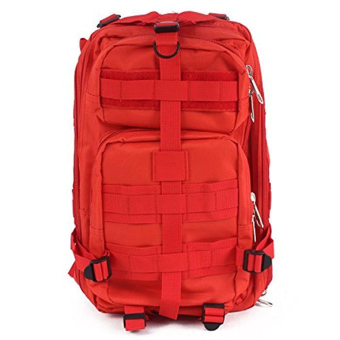 "First Aid Rucksack - Tactical Assault Pack - 18"" Military MOLLE Backpack"