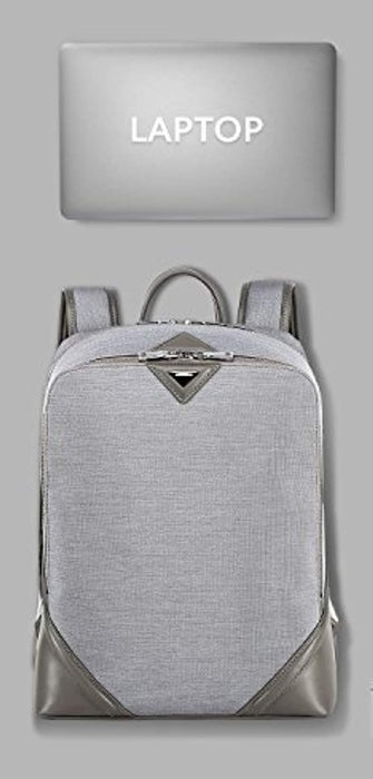 Womens Lightweight Conventional Water Resistant Laptop Backpack 15.6""
