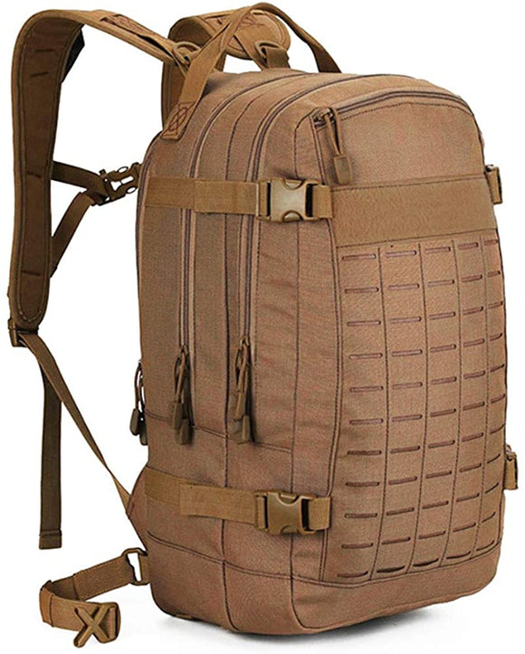 30L Military Backpack MOLLE Tactical Daypack with Water Bladder Pocket