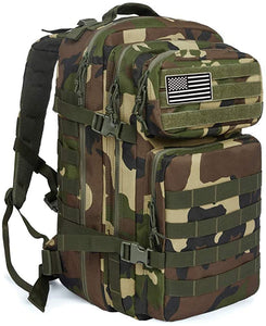 42L Military Tactical Backpack Large Assault Pack Molle Outdoors Day Travel Pack
