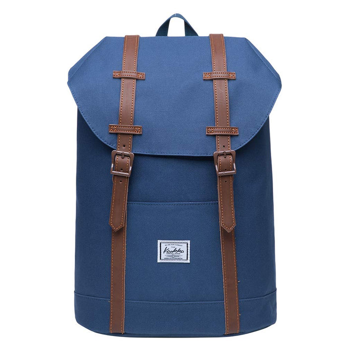 "Vintage Lightweight Outdoor Backpack Casual Rucksack 15"" Laptop"