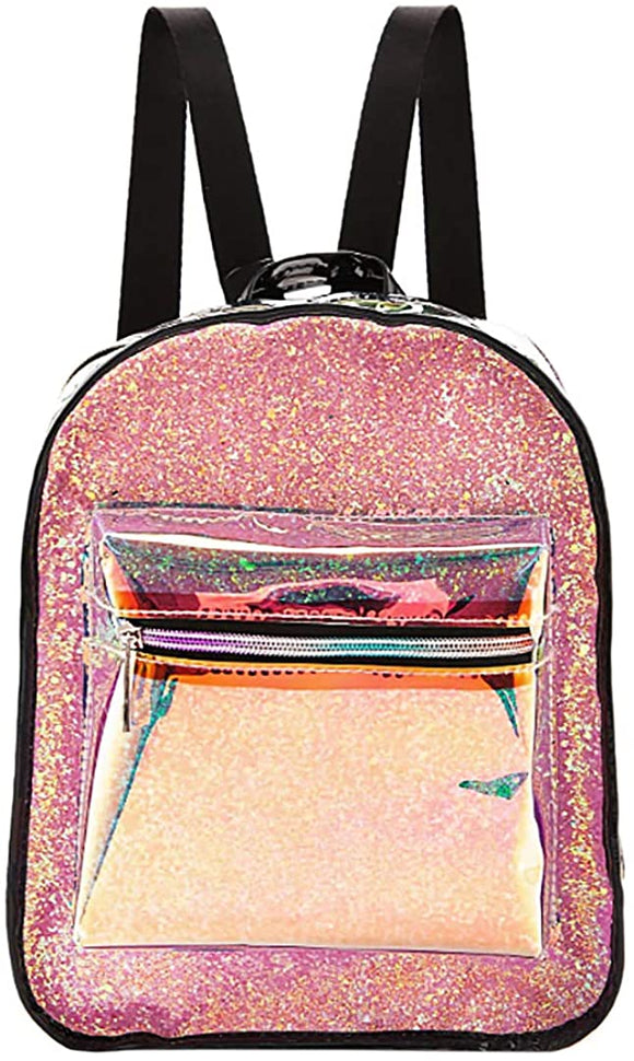 Shiny Hologram Holographic Small Backpack