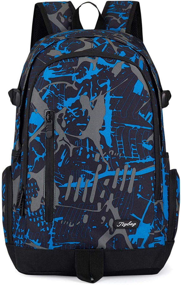Lightweight College School Back Pack with Laptop Sleeve
