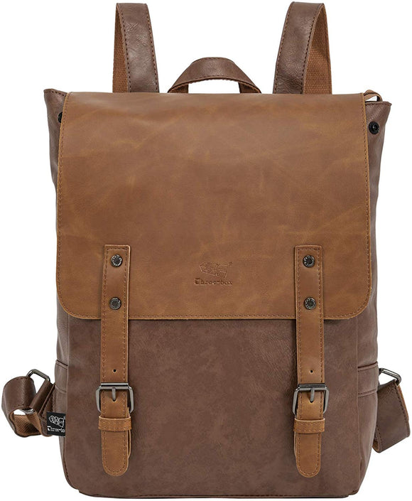 On The Go Leather Backpack with 14