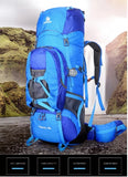 80L Large Capacity Camping Outdoor Trekking Hiking Rucksack
