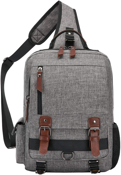 "Messenger Sling Bag Crossbody Shoulder Backpack Outdoor Travel Sport 13"" Laptop for Men"