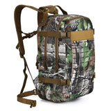 30L Camping Hiking Military Backpack-Leaf Camo-ERucks