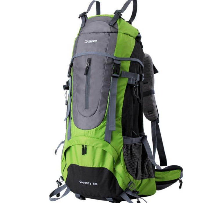 Creeper 60L Camping Nylon Rucksack-Green-50 - 70L-ERucks