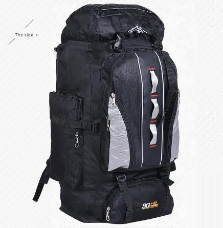 100L Large Capacity Camping Hiking Backpack