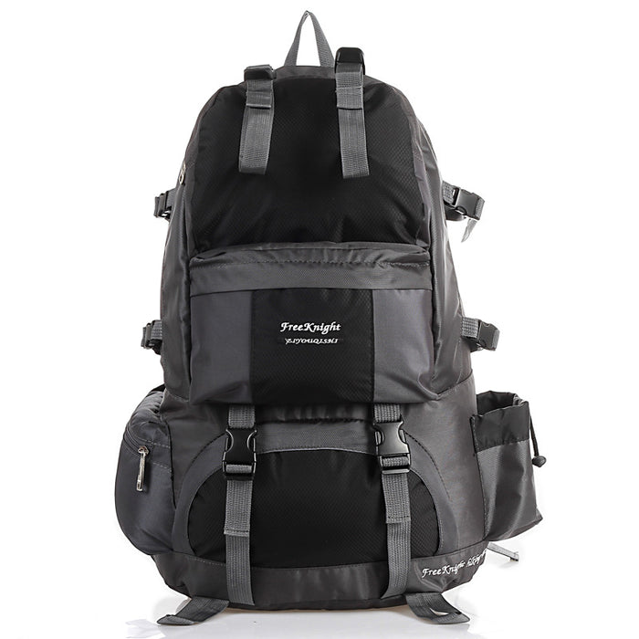 50L High Capacity Outdoor Hiking Camping Trekking Backpack-Tech Black-ERucks