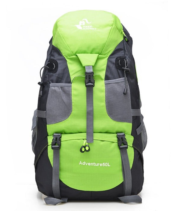 50L Large Waterproof Climbing Hiking Mountaineering Backpack-Fresh Green-ERucks