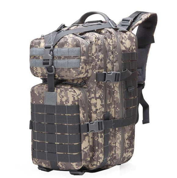 50L Large Military MOLLE Tactical Army Backpack-ACU Camo-ERucks