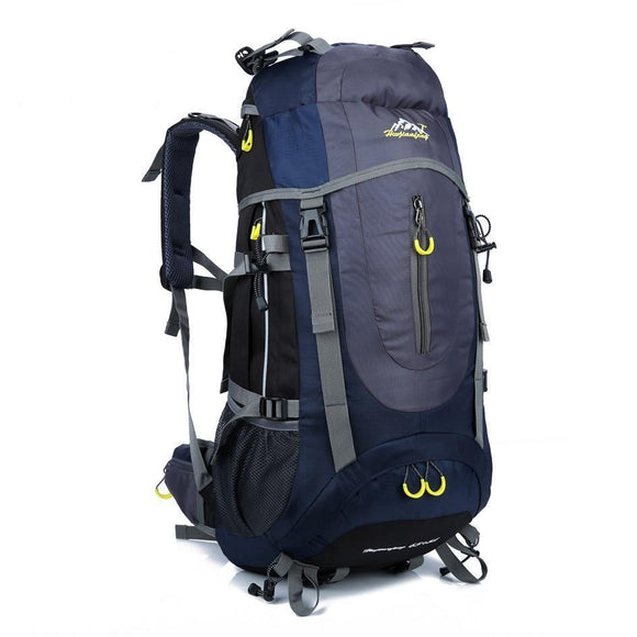 70L Nylon Camping Trekking Hiking Rucksack-Midnight Blue-ERucks