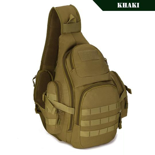 PROTECTOR PLUS 20L Military Molle Tactical Sling Backpack-Khaki-ERucks