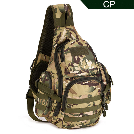 PROTECTOR PLUS 20L Military Molle Tactical Sling Backpack-CP Camo-ERucks
