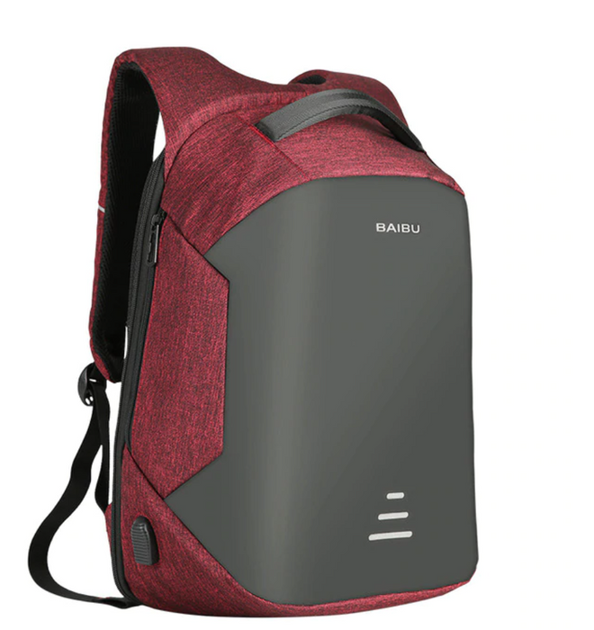 "Women's Classic Anti Theft 15"" Laptop Backpack with USB Charging"