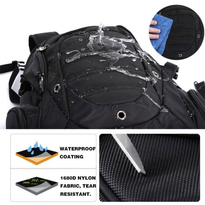 Swiss Design Large Capacity Anti-Theft Travel Backpack