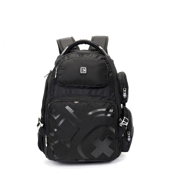 Swiss Design Multi-Pocket Backpack