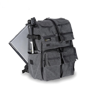 Large Grey Explorer Photographer Backpack