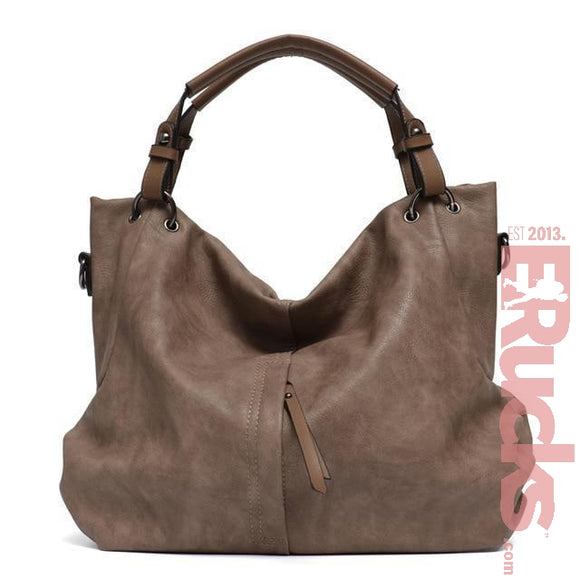 Women's Cruelty Free Vegan Leather Tote Handbag