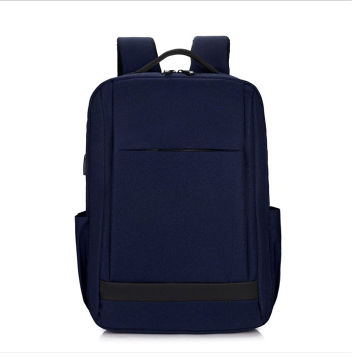 "Classic Medium Oxford School 15"" Laptop Backpack with USB Charging"