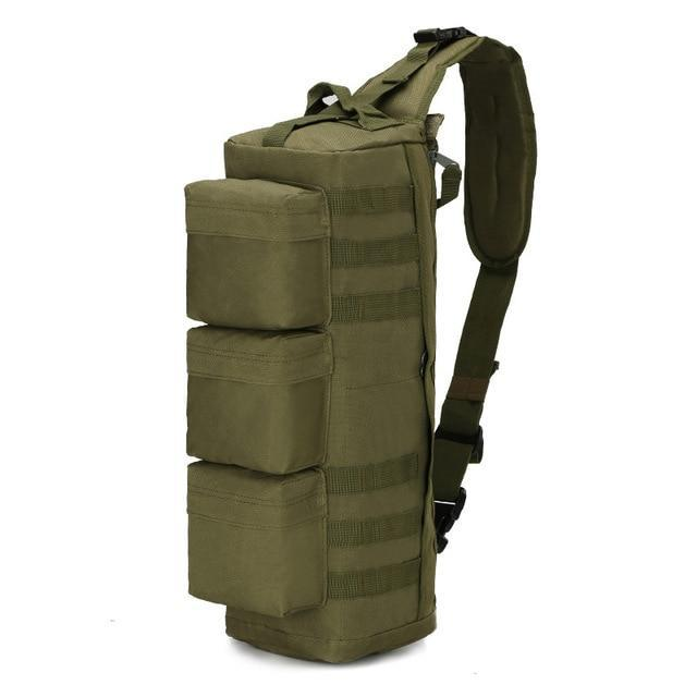 Medium Military 3P MOLLE Tactical Army Sling Backpack