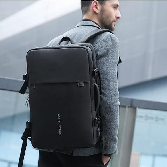 Mark Ryden 17 Inch Laptop High Capacity USB Charging Multi-Layer Backpack