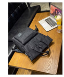 "Women's Tote 15"" Laptop Backpack with USB Charging"
