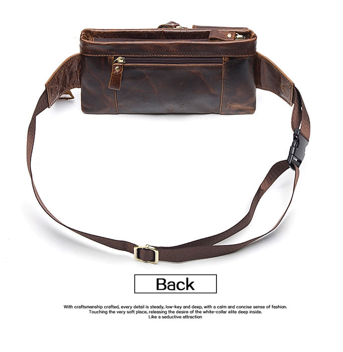 Leather Travel Waist Pack