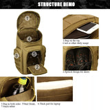 Protector Plus 40L Modern Military Molle Tactical Army Backpack