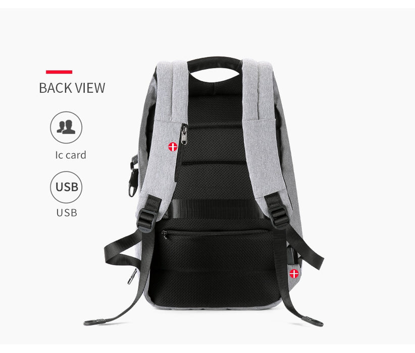 Women's Anti-Theft Laptop Backpack with USB Charging